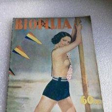Coleccionismo de Revistas y Periódicos: RARISIMA REVISTA REPUBLICANA ANARQUISTA BIOFILIA AGOSTO 1936 NUMERO 8 BARCELONA. Lote 147206638