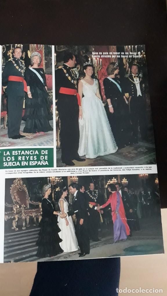 1983 SILVIA SOMMERLATH REINA DE SUECIA LOS REYES EN ESPAÑA FAMILIA REAL (Coleccionismo - Revistas y Periódicos Modernos (a partir de 1.940) - Otros)