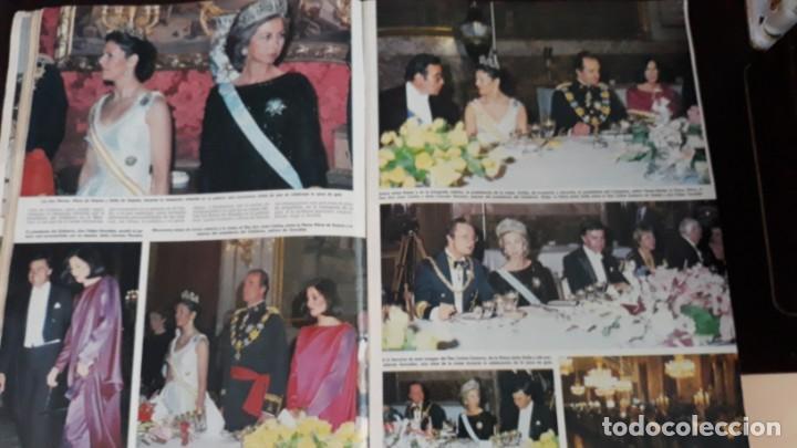 Coleccionismo de Revistas y Periódicos: 1983 SILVIA SOMMERLATH REINA DE SUECIA LOS REYES EN ESPAÑA FAMILIA REAL - Foto 2 - 147240058