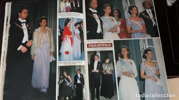 Coleccionismo de Revistas y Periódicos: 1983 SILVIA SOMMERLATH REINA DE SUECIA LOS REYES EN ESPAÑA FAMILIA REAL - Foto 4 - 147240058