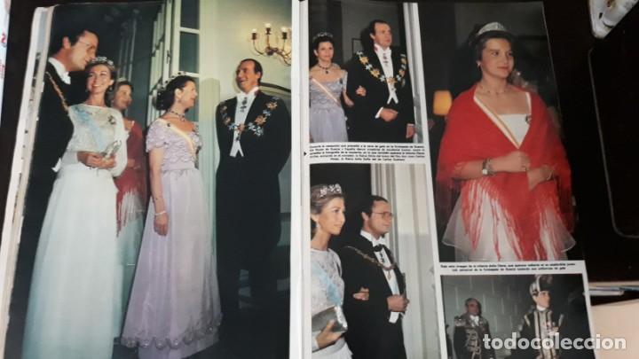 Coleccionismo de Revistas y Periódicos: 1983 SILVIA SOMMERLATH REINA DE SUECIA LOS REYES EN ESPAÑA FAMILIA REAL - Foto 5 - 147240058