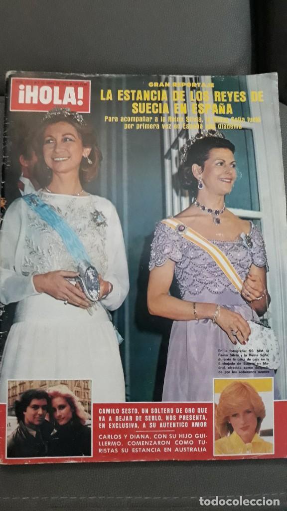 Coleccionismo de Revistas y Periódicos: 1983 SILVIA SOMMERLATH REINA DE SUECIA LOS REYES EN ESPAÑA FAMILIA REAL - Foto 7 - 147240058