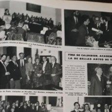Coleccionismo de Revistas y Periódicos: FINA DE CALDERON . Lote 147243778