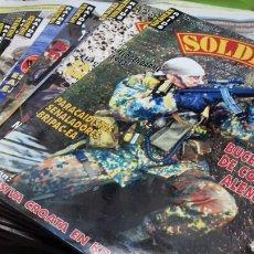 Coleccionismo de Revistas y Periódicos: LOTE 16 REVISTAS SOLDIERS RAIDS.EN ESPAÑOL.. Lote 147301541