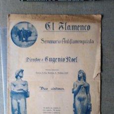 Coleccionismo de Revistas y Periódicos: EL FLAMENCO SEMANARIO ANTIFLAMENQUISTA 1914 AÑO 1 N 2 RARO. Lote 147306078