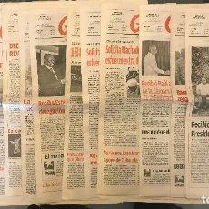 Coleccionismo de Revistas y Periódicos: 12VOL. GRANMA. PERIODICO OFICIAL DEL PARTIDO COMUNISTA DE CUBA CONTIENE MARTES 13. Lote 147399030
