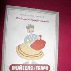 Coleccionismo de Revistas y Periódicos: CUADERNO MANUALIDADES . Lote 147475914