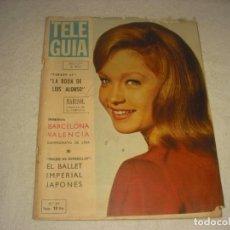 Coleccionismo de Revistas y Periódicos: TELE GUIA Nº 10 , ABRIL 1965 . EN PORTADA MARISOL. Lote 147494338