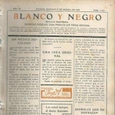 Coleccionismo de Revistas y Periódicos: BYN 8 ENE 1928.Nº 1912.SUELTOS: PORTADILLA ANTES CACAO PHOSCAO PASATIEMPOS HUMOR ZEISS PUBLICIDAD. Lote 147545370