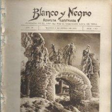 Coleccionismo de Revistas y Periódicos: BYN 8 ENE 1928.Nº 1912.SUELTOS: PORTADA INTERIOR NIAGARA REINA VICTORIA EUGENIA LASZLO. GALINSONGA. Lote 147545914