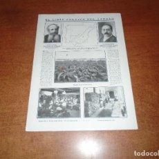 Coleccionismo de Revistas y Periódicos: RETAL 1911 LIBRE CULTIVO DEL TABACO. ALMACENES ADOLFO MOELLER. ESCULTURA DE ARNALDO ZOCCHI. Lote 147551514