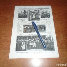 Coleccionismo de Revistas y Periódicos: RETAL 1911 BADAJOZ MONUMENTO. ALICANTE MANIFESTACIÓN. SEVILLA LAUREADA. BARCELONA. REGINE BADET.. Lote 147551546