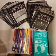 Coleccionismo de Revistas y Periódicos: ÚNICO LOTE DE 132 REVISTAS DE LA MÍTICA REVISTA FRANCESA LUMIERES DANS LA NUIT- UFOLOGÍA-OVNIS. Lote 147551558