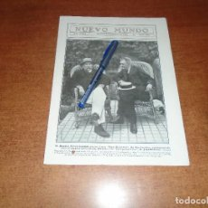 Coleccionismo de Revistas y Periódicos: RETAL 1911 BENITO PÉREZ GALDÓS EN SANTANDER CON JOSÉ ESTRAÑI. HUELGA EN EL MUELLE DE BILBAO. Lote 147551610