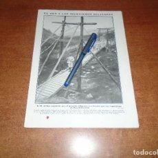 Coleccionismo de Revistas y Periódicos: RETAL 1911 EL REY EN SAN SEBASTIÁN. INGENIEROS MILITARES. ESCUELA DE ARTES Y OFICIOS. TOROS EN IRÚN. Lote 147551642
