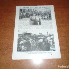 Coleccionismo de Revistas y Periódicos: RETAL 1911 VALENCIA, APLECH CARLISTA. SANTUARIO DE LA MAGDALENA. INSTITUTO PARA SEÑORITAS EN MADRID. Lote 147551834