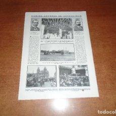 Coleccionismo de Revistas y Periódicos: RETAL 1911 OVIEDO SECADERO JAMONES. HUELVA. BARCELONA. CENTRO CASTELLANO DE LA HABANA. . Lote 147552074