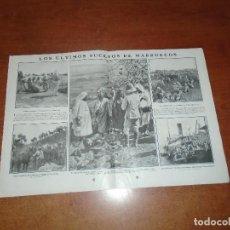 Coleccionismo de Revistas y Periódicos: RETAL 1911 SUCESOS EN MARRUECOS. ALGECIRAS. MUELLE DE VALENCIA. CENTENARIO BRIHUEGA Y VILLAVICIOSA. Lote 147552146