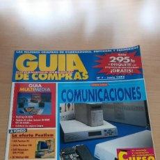 Coleccionismo de Revistas y Periódicos: REVISTA GUIA DE COMPRAS INFORMATICA PERSONAL Nº 7 JUNIO 1995 - SOLO REVISTA. Lote 147596278