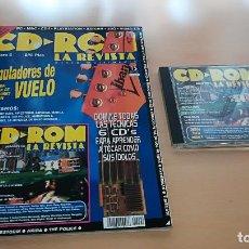 Coleccionismo de Revistas y Periódicos: CD ROM LA REVISTA Nº 6 - CON CD, ESPECIAL SIMULADORES DE VUELO. LAS ÚLTIMAS PAGINAS ESTAN RASGADAS.. Lote 147596806