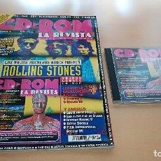 Coleccionismo de Revistas y Periódicos: CD ROM LA REVISTA Nº 4 - CON CD CON DEMO ROLLING STONES VOODOO LOUNGE CD-ROM. Lote 147596946