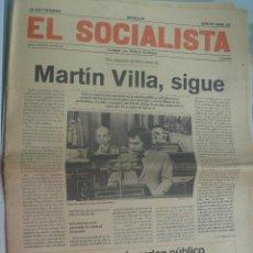 Coleccionismo de Revistas y Periódicos: EL SOCIALISTA , FUNDADO POR PABLO IGLESIAS . Nº 22, SEPTIEMBRE DE 1977. Lote 147598082