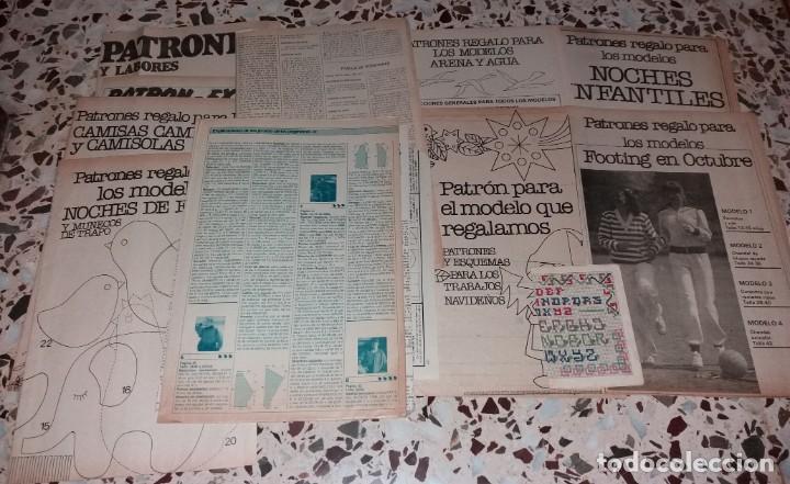 Coleccionismo de Revistas y Periódicos: Moda vintage. Revistas de labores (punto de cruz, ganchillo, anillas, patrones, etc). 5 kilos - Foto 6 - 147618406