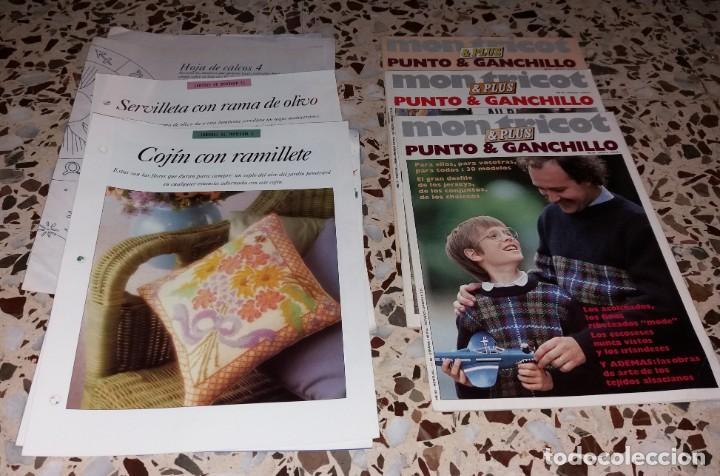 Coleccionismo de Revistas y Periódicos: Moda vintage. Revistas de labores (punto de cruz, ganchillo, anillas, patrones, etc). 5 kilos - Foto 8 - 147618406