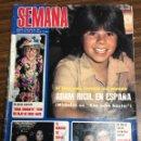 Coleccionismo de Revistas y Periódicos: REVISTA SEMANA / AÑO 1981 / N 2161 / CON 8 BASTA / DOÑA CROQUETA / SOFIA LOREN. Lote 147621674