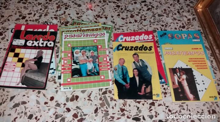 Coleccionismo de Revistas y Periódicos: Revista de pasatiempos. Lote de 90 ejemplares. Álbumes, extras, normales. De los 80 a 2000. Sin usar - Foto 5 - 147622054