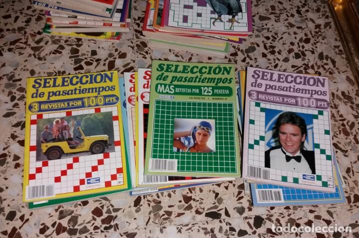 Coleccionismo de Revistas y Periódicos: Revista de pasatiempos. Lote de 90 ejemplares. Álbumes, extras, normales. De los 80 a 2000. Sin usar - Foto 6 - 147622054