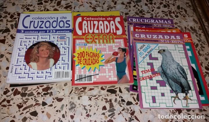 Coleccionismo de Revistas y Periódicos: Revista de pasatiempos. Lote de 90 ejemplares. Álbumes, extras, normales. De los 80 a 2000. Sin usar - Foto 8 - 147622054