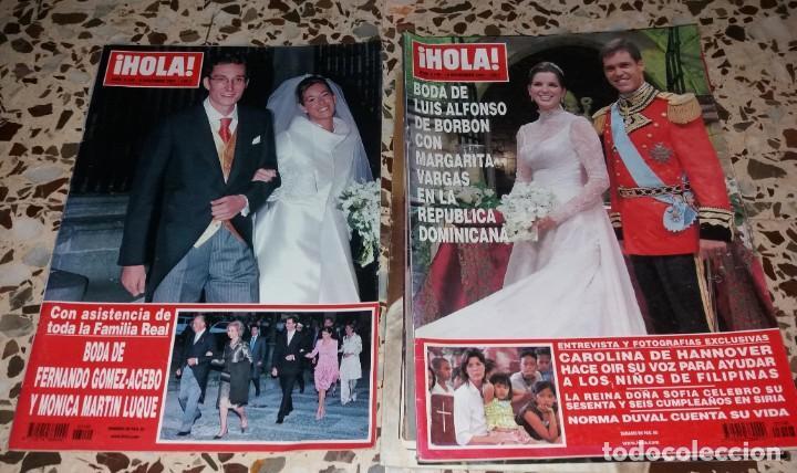 Coleccionismo de Revistas y Periódicos: Revistas del corazón. Boda casa real, lote 5 difs, 1964 a 2004 (Infanta Pilar, Claudia Francia, etc) - Foto 4 - 147623778