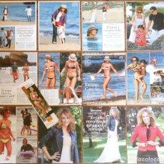 Coleccionismo de Revistas y Periódicos: EMMA GARCIA COLECCION PRENSA BIKINI SEXY FOTOS CLIPPINGS SPANISH MODEL PRESENTADORA TV. Lote 112049819