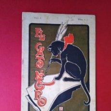 Coleccionismo de Revistas y Periódicos: EL GATO NEGRO N 1 AÑO 1 . Lote 147687258