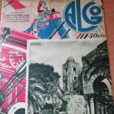 Coleccionismo de Revistas y Periódicos: REVISTA ALGO Nº 196 1933 DONDE EL EBRO NACE FOTOS REINOSA CAMPOO. Lote 147696778