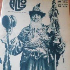 Coleccionismo de Revistas y Periódicos: REVISTA ALGO Nº 211 1933 UNA VISITA AL VALLE DEL BAZTAN FOTO REPARACEA Y SUMBILL. Lote 147705586