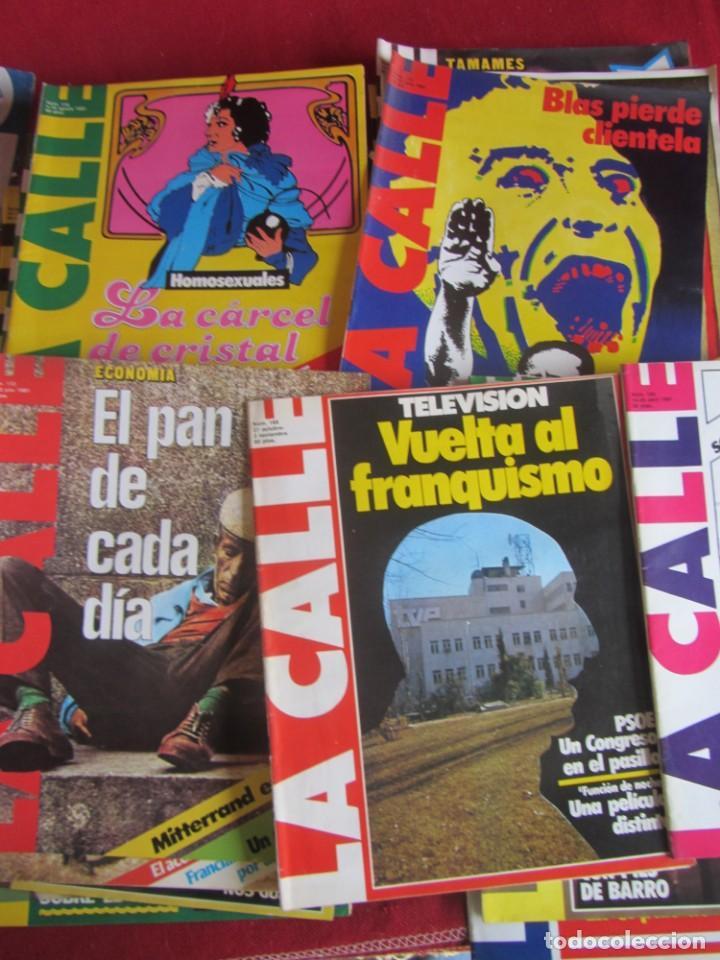 LOTE 39 REVISTAS LA CALLE. DE FEBRERO 1981 A FEBRERO 1982 (Coleccionismo - Revistas y Periódicos Modernos (a partir de 1.940) - Otros)