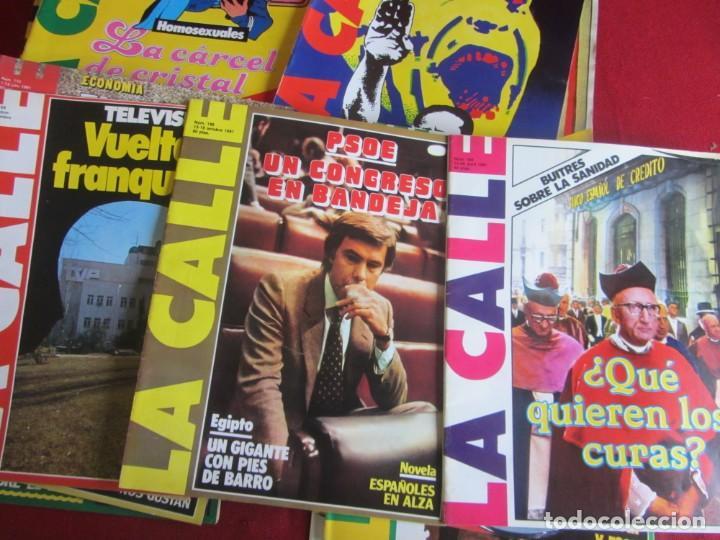 Coleccionismo de Revistas y Periódicos: LOTE 39 REVISTAS LA CALLE. DE FEBRERO 1981 A FEBRERO 1982 - Foto 2 - 147747054