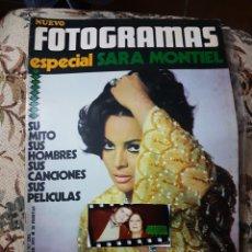 Coleccionismo de Revistas y Periódicos: SARA MONTIEL ESPECIAL REVISTA NUEVO FOTOGRAMAS N.1202 29 OCTUBRE 1971. Lote 147767602
