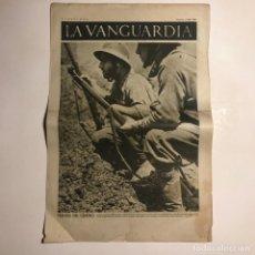 Coleccionismo de Revistas y Periódicos: LA VANGUARDIA 1937. GUERRA CIVIL ESPAÑOLA. CARABANCHEL. ALCARRIA. Lote 147798258