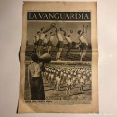 Coleccionismo de Revistas y Periódicos: LA VANGUARDIA 1938. GUERRA CIVIL ESPAÑOLA. TERUEL. PRIETO. AGUADE.. Lote 147799086