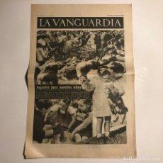 Coleccionismo de Revistas y Periódicos: LA VANGUARDIA 1938. GUERRA CIVIL ESPAÑOLA. COMPANYS. COMORERA, PI I SUÑER, VIDIELLA Y CALVET.. Lote 147800470