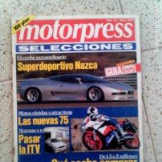 Coleccionismo de Revistas y Periódicos: REVISTA MOTORPRESS N,25 DE MAYO DE 1992. Lote 147817518