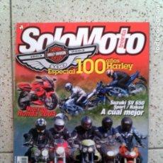 Coleccionismo de Revistas y Periódicos: REVISTA SOLO MOTO SPECIAL 100 AÑOS DE HARLEY DAVIDSON N,245 DE 2003. Lote 147817930