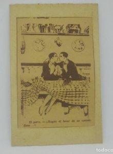 El Perro - ¡Hagan el favor de no confundirse...! Recorte de periódico antiguo. Homosexualidad