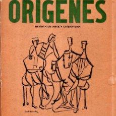 Coleccionismo de Revistas y Periódicos: ORIGENES. REVISTA DE ARTE Y LITERATURA. LA HABANA. 1956. Nº 40. VER SUMARIO.. Lote 147839570