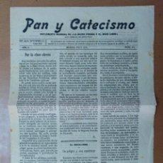 Coleccionismo de Revistas y Periódicos: PAN Y CATECISMO MADRID MAYO 1912 Nº 44. Lote 147840810