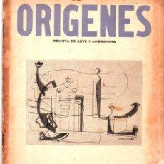Coleccionismo de Revistas y Periódicos: ORIGENES. REVISTA DE ARTE Y LITERATURA. LA HABANA. 1955. Nº 37. VER SUMARIO. LEER.. Lote 147842074