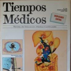 Coleccionismo de Revistas y Periódicos: REVISTA N°461 TIEMPOS MÉDICOS 1992. Lote 147842917